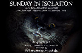 22.03.2020: Sunday in Isolation #1 Livestream