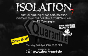 30.04.2020: Isolation #7 Livestream