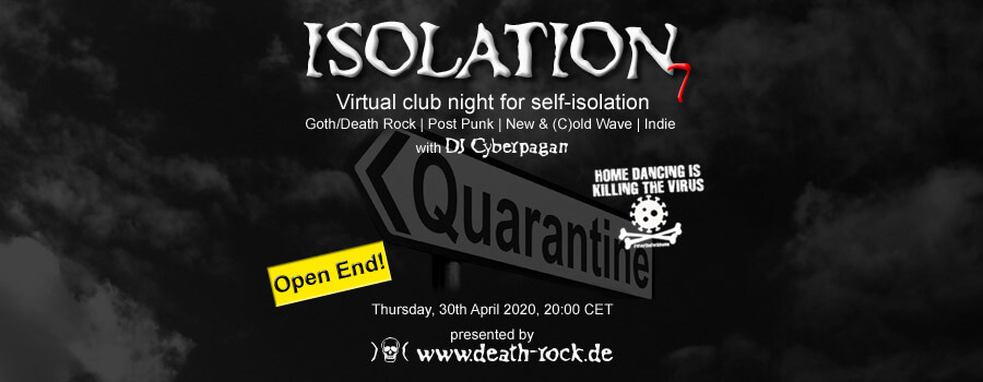 30.04.2020: Isolation #7 Livestream