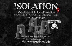 14.05.2020: Isolation #9 Livestream
