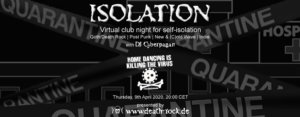 09.04.2020: Isolation #4 Livestream