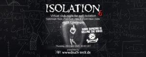 23.04.2020: Isolation #6 Livestream