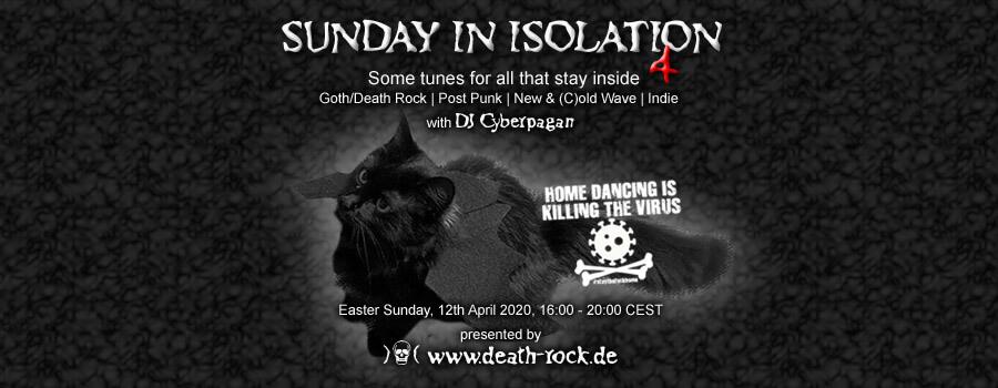 12.04.2020: Sunday in Isolation #4 Livestream