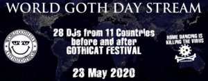 23.05.2020: World Goth Day Stream