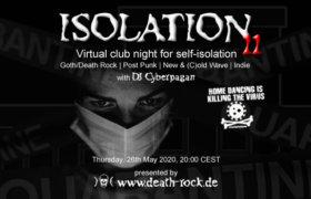 28.05.2020: Isolation #11 Livestream