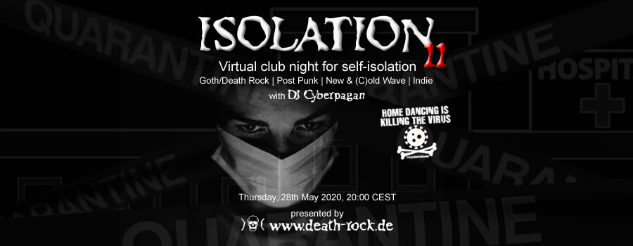 28.05.2020: Isolation #11 Livestream