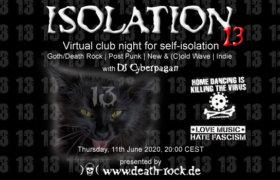11.06.2020: Isolation #13 Livestream