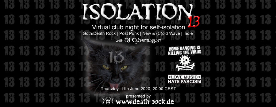 11.06.2020: Isolation #13 Livestream