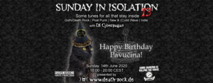 14.06.2020: Sunday in Isolation #13 Livestream