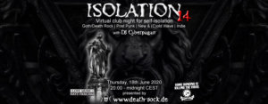 18.06.2020: Isolation #14 Livestream