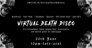 20.06.2020: Virtual Death Disco Livestream