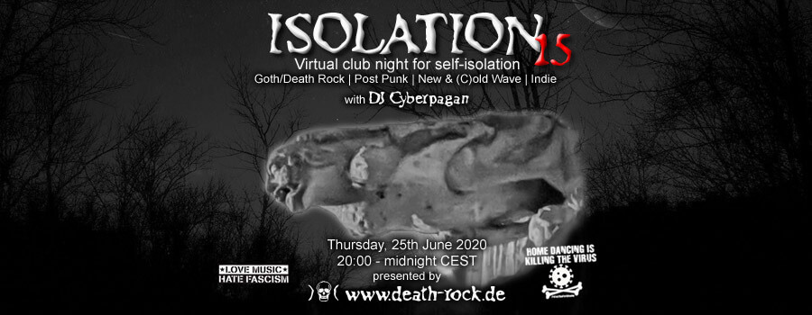 25.06.2020: Isolation #15 Livestream