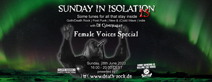 28.06.2020: Sunday in Isolation #15 Livestream