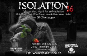 02.07.2020: Isolation #16 Livestream