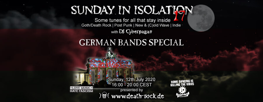12.07.2020: Sunday in Isolation #17 Livestream