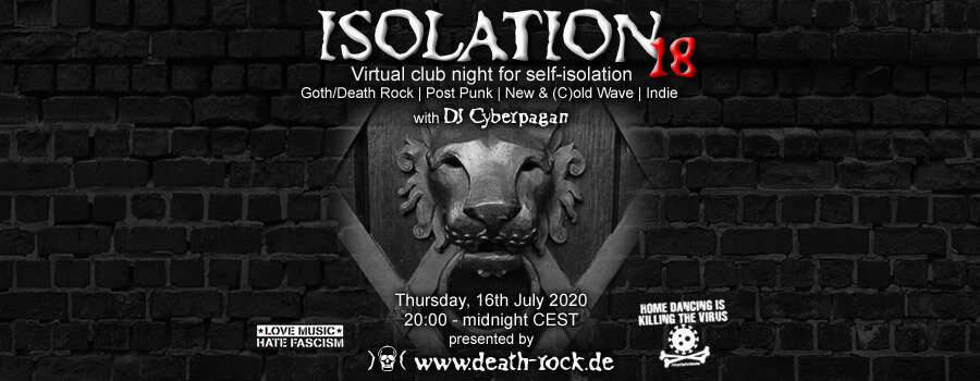 16.07.2020: Isolation #18 Livestream