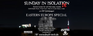 19.07.2020: Sunday in Isolation #18 Livestream