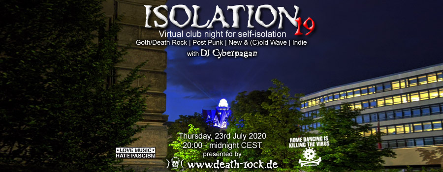 23.07.2020: Isolation #19 Livestream