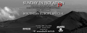 26.07.2020: Sunday in Isolation #19 Livestream