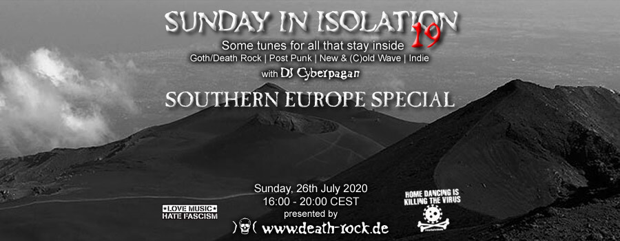 26.07.2020: Sunday in Isolation #19 Livestream
