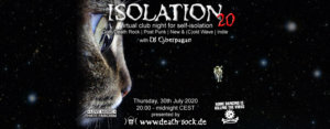 30.07.2020: Isolation #20 Livestream