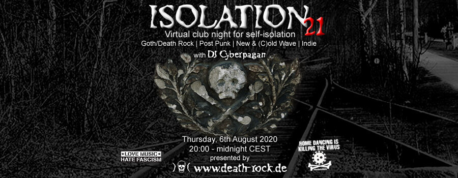 06.08.2020: Isolation #21 Livestream