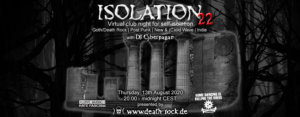 13.08.2020: Isolation #22 Livestream