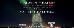 16.08.2020: Sunday in Isolation #22 Livestream
