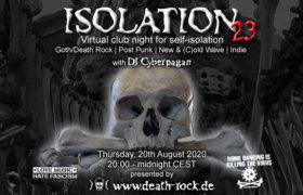 20.08.2020: Isolation #23 Livestream