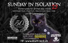 23.08.2020: Sunday in Isolation #23 Livestream