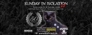 23.08.2020: Sunday in Isolation #23 Livestream