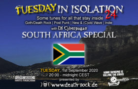 01.09.2020: TUESDAY in Isolation #24