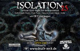 03.09.2020: Isolation #25 Livestream