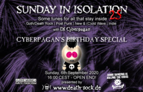 06.09.2020: Sunday in Isolation #25 Livestream