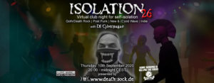 10.09.2020: Isolation #26 Livestream