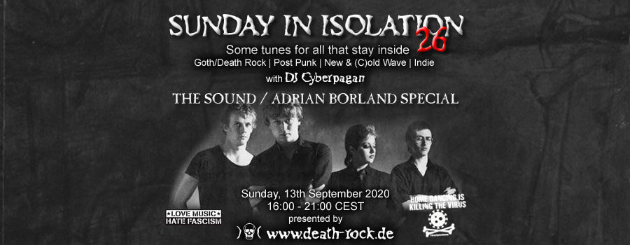 13.09.2020: Sunday in Isolation #26 Livestream