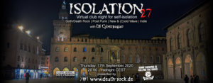 17.09.2020: Isolation #27 Livestream
