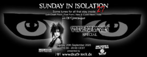 20.09.2020: Sunday in Isolation #27 Livestream