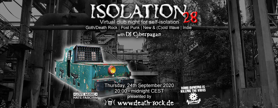 24.09.2020: Isolation #28 Livestream