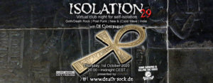 01.10.2020: Isolation #29 Livestream