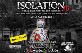 08.10.2020: Isolation #30 Livestream