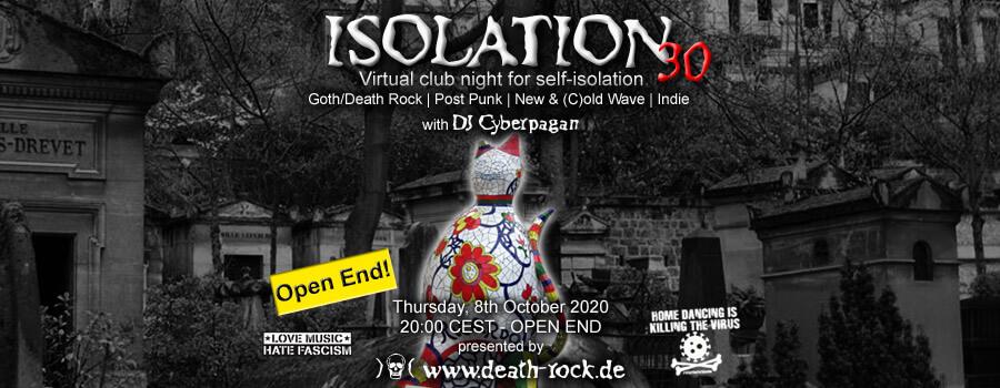 08.10.2020: Isolation #30 Livestream