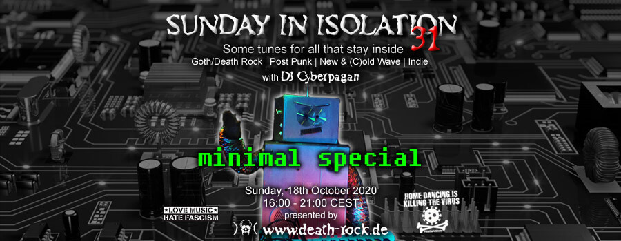 18.10.2020: Sunday in Isolation #31 Livestream