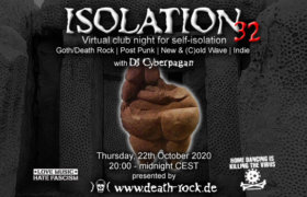 22.10.2020: Isolation #32 Livestream