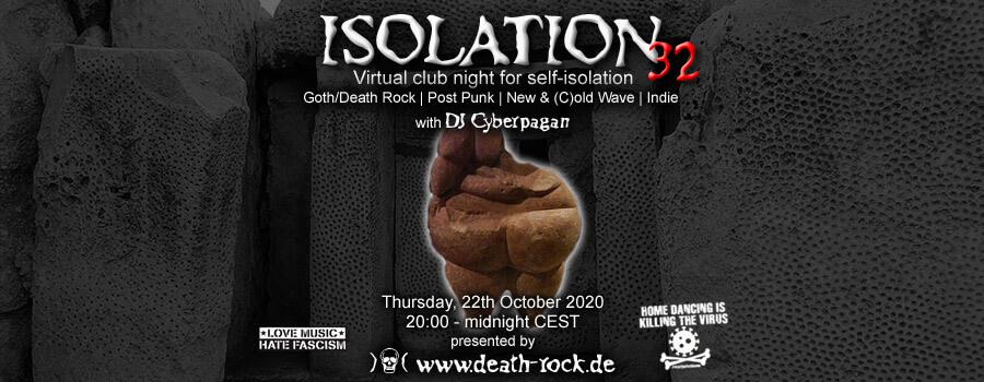 22.10.2020: Isolation #32 Livestream