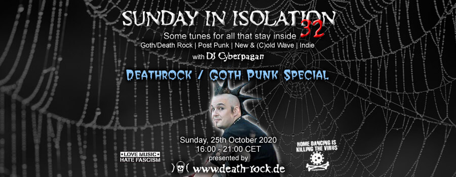 25.10.2020: Sunday in Isolation #32 Livestream