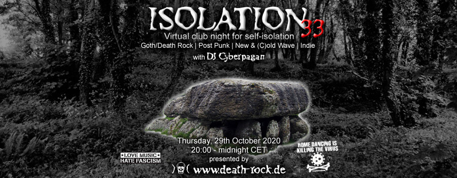 29.10.2020: Isolation #33 Livestream