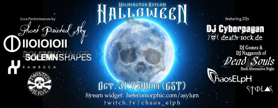 31.10.2020: Blue Moon Halloween Asylum Livestream