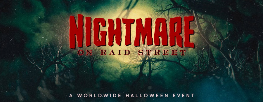 31.10.2020: Nightmare on Raid Street Livestream
