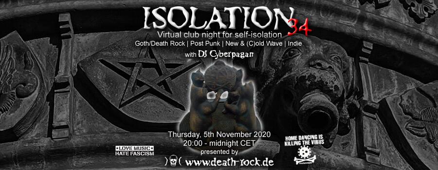 05.11.2020: Isolation #34 Livestream